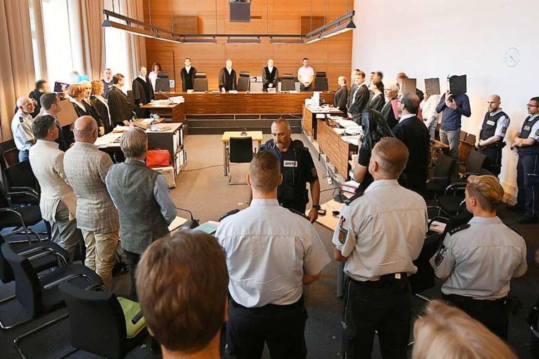 Mit elf Angeklagten war der Prozess ge...rgewaltigung vorgeworfen (Archivbild).  | Foto: Patrick Seeger (dpa)