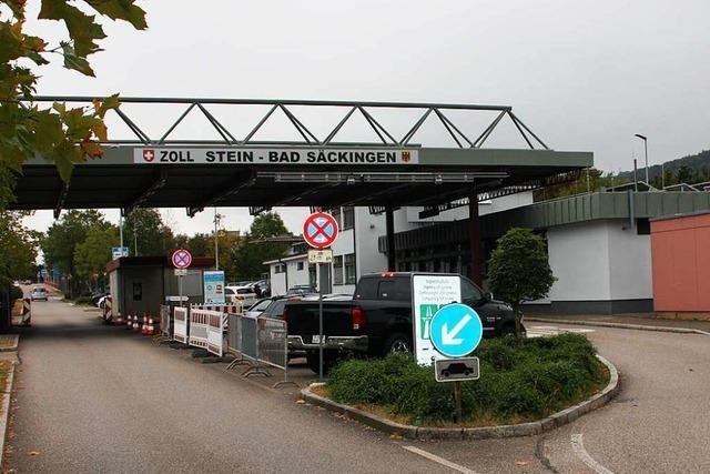 Zusammenarbeit am Zoll zwischen Stein und Bad Säckingen läuft gut