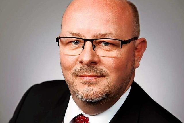 Detlef A. Huber von der AfD: