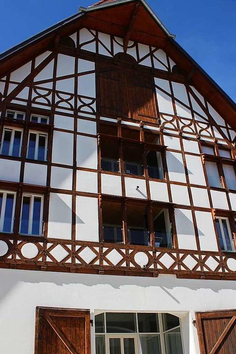 So kann Modernisieren und Sanieren ein...dem Mietwohnungen  untergebracht sind.  | Foto: Karin Heiß