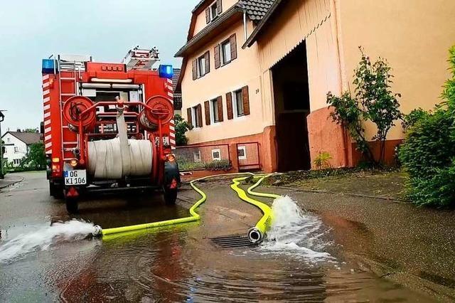 Gemeinderat sucht nach Lösungen beim Hochwasserschutz