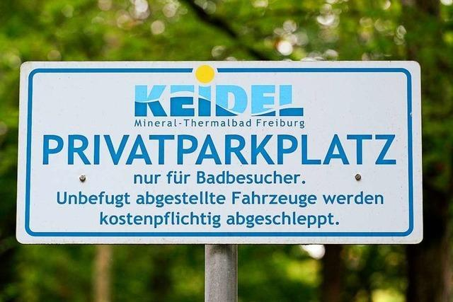 Rathaus und Fraktionen fordern Prüfung der Parkplatz-Pläne fürs Keidelbad