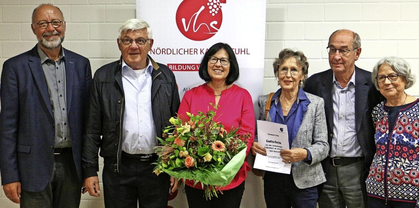 Abschied von langjährigen Vorstandsmit...re Orth, Roland Baecke und Maria Lang.  | Foto: Ruth Seitz