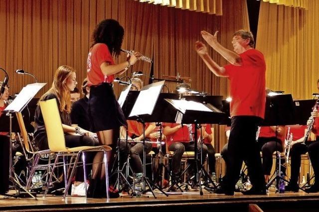 Jungmusiker spielen auf hohem Niveau