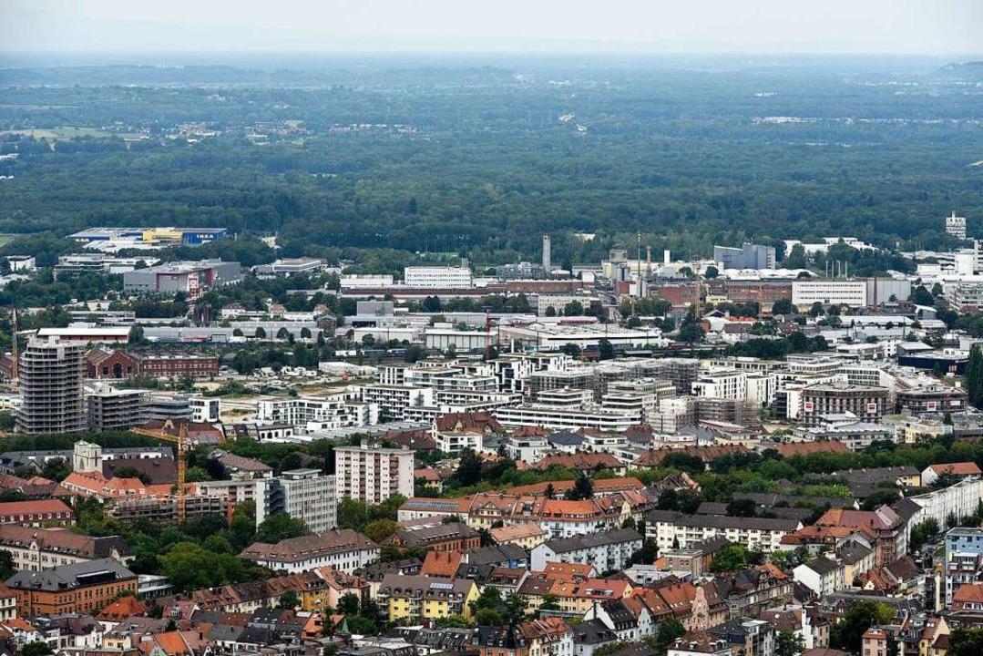 War als Gewerbegebiet geplant, nun ist auch Wohnen möglich: das Güterbahnareal  | Foto: Thomas Kunz