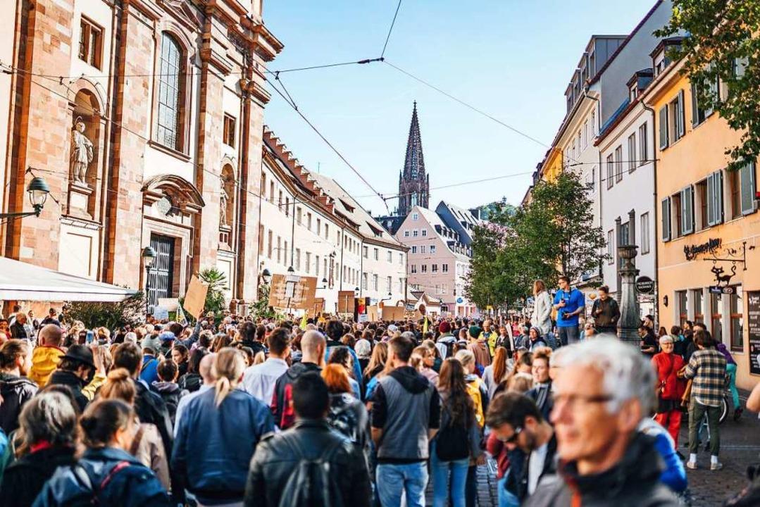 Wie viele Menschen haben Ende September beim Klimastreik teilgenommen?    Foto: Fabio Smitka