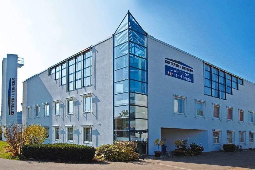 Der Firmensitz von Ketterer + Liebherr in Freiburg    Foto: PR / Ketterer und Liebherr