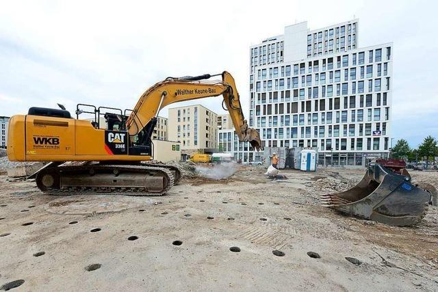Bauvorhaben neben den Westarkaden soll in zwei Jahren beendet sein