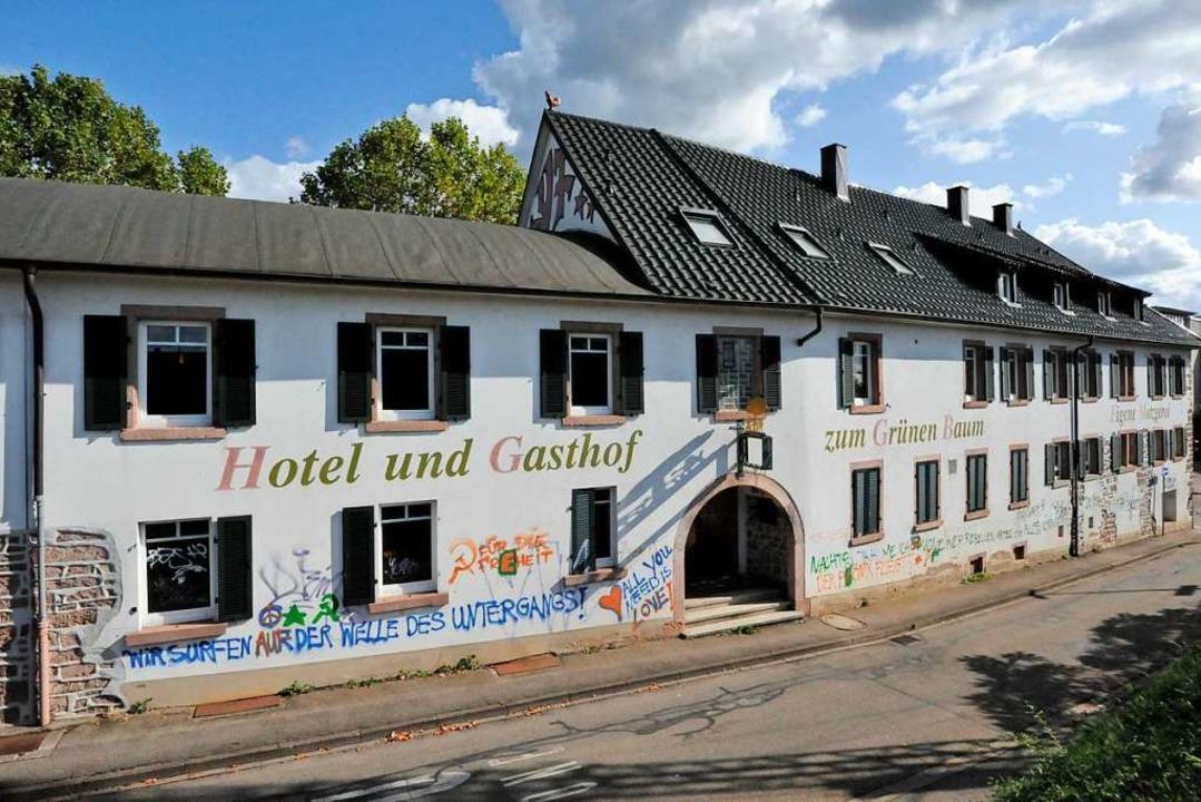 Betrieben wird das Gasthaus schon seit vielen Jahren nicht mehr.    Foto: Markus Zimmermann