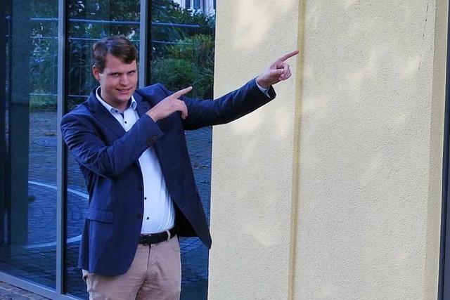 Ortsrundgang durch Badenweiler mit Bürgermeisterkandidat Vincenz Wissler