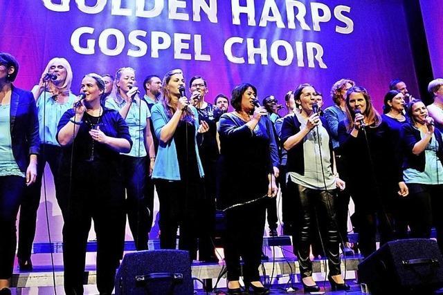 Golden Harps Gospel Choir gastiert in Neuenburg
