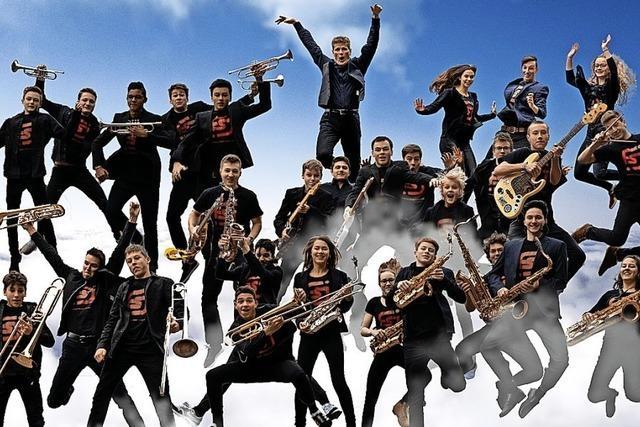 Schüler-Jazzorchester Freiburg zu Gast in Bad Krozingen