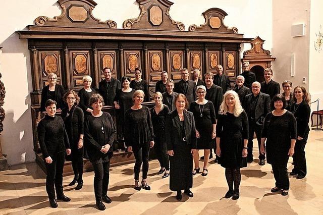 Vocalconsort tritt in Wien auf – und in Purkersdorf