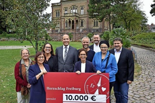10 000 Euro Spende als Start