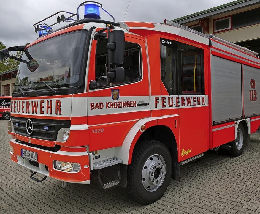 Die Feuerwehr Hartheim hat für die Aus...t, einen externen Berater beauftragt.   | Foto: Frank Schoch