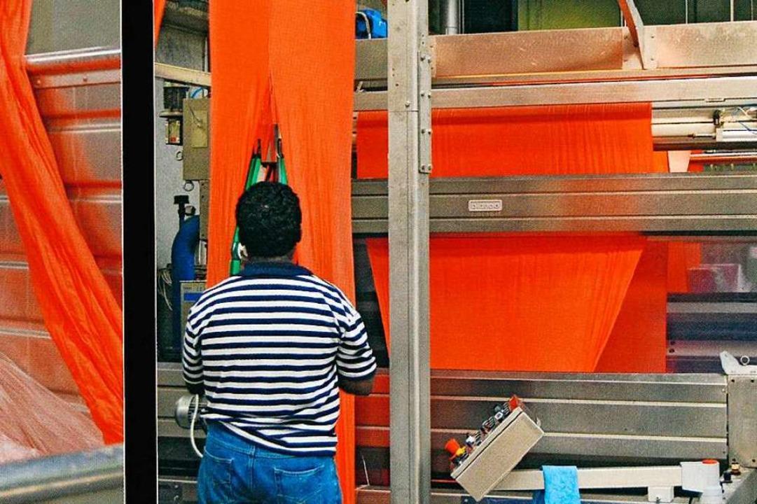 Im April 2020 stellt die Textilveredelung Dreiländereck ihren Betrieb ein.  | Foto: Dreiländereck Textilveredelungs GmbH