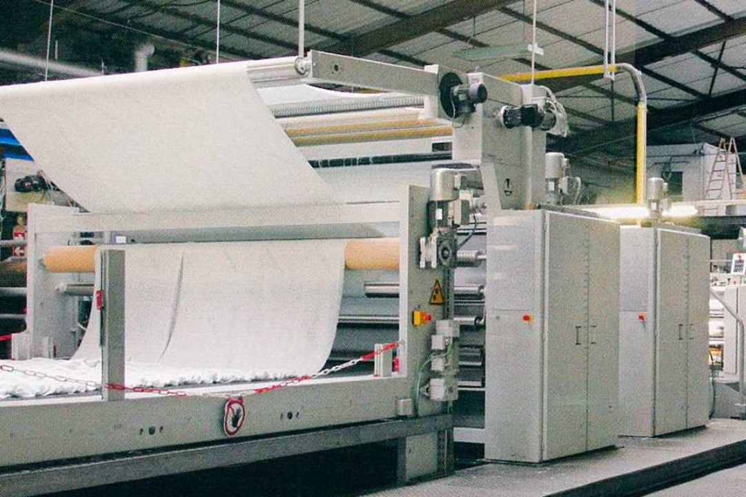 Maschinen und Gebäude der Dreiländerec...es und Amman für zwei Jahre gepachtet.  | Foto: Dreiländereck Textilveredelungs GmbH