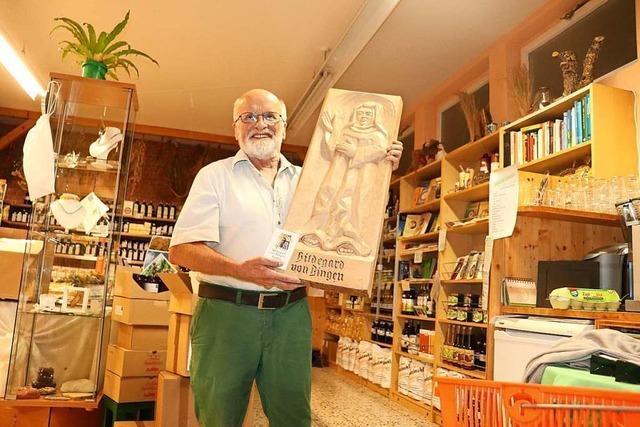 Franz Haag sucht einen Nachfolger für seinen Hildegard-Laden