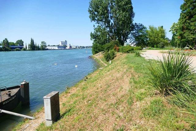 Die Kosten für den Rheinpark in Weil sind deutlich gesunken