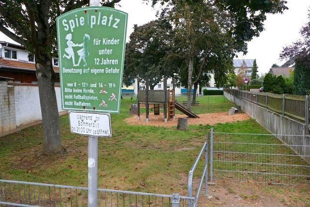 Neuenburger Spielplätze werden nach und nach saniert