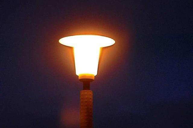 LED-Straßenlampen sind Einigen in Grenzach-Wyhlen zu grell