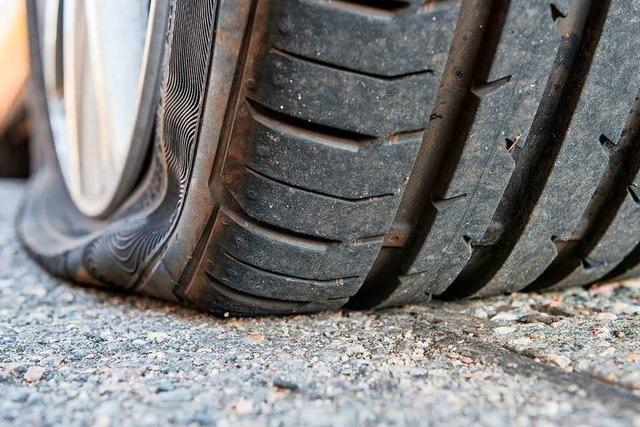 Nachdem Zollfahnder ein Auto mit Schüssen stoppten, gab es keine Festnahmen