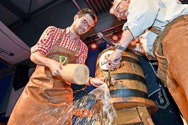 Zehn Tage lang wird bei der Brauerei Ganter Oktoberfest gefeiert
