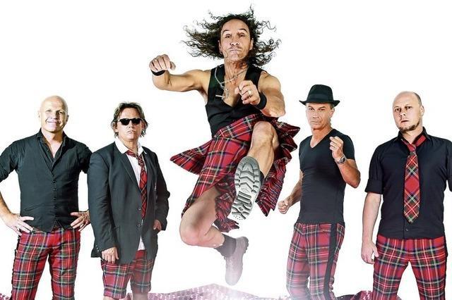 Die Kölner Mundart-Band Brings macht Polka und Stimmung