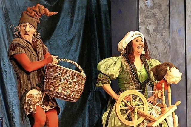 Anrührend und lustig: Theater Mimikri zeigt das Stück Rumpelstilzchen