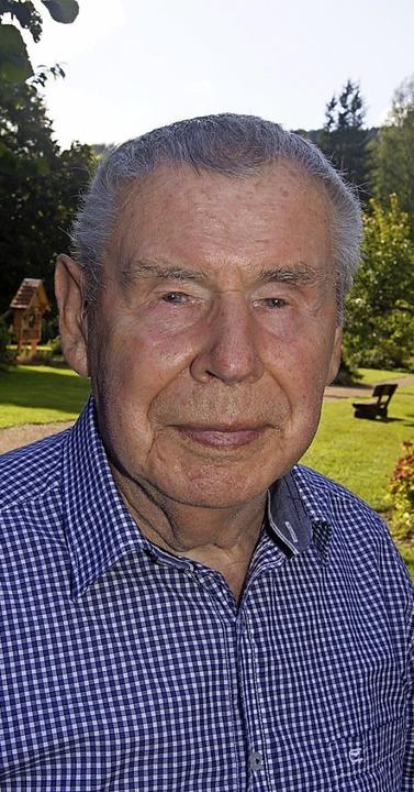 Josef Kern wird 90 Jahre  | Foto: Roland Gutjahr