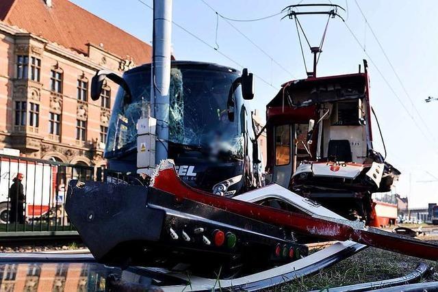 Busunfall des Schwarzwaldvereins in Danzig: