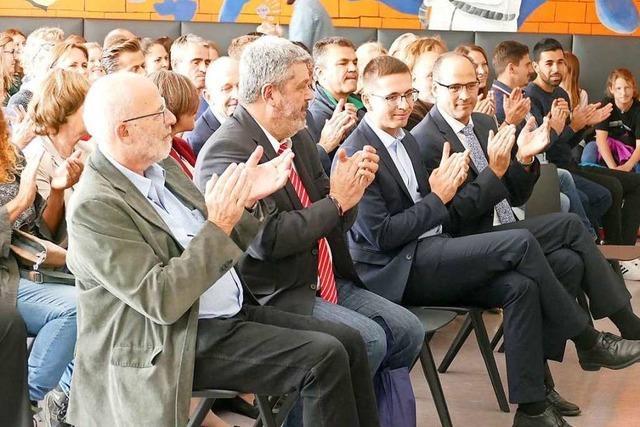 Amtseinführung des neuen Realschulleiters in Bonndorf