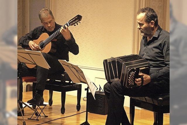 Tango-Rhythmen reißen das Publikum mit