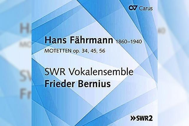 CD: KLASSIK: Der Dresdner Spätromantiker