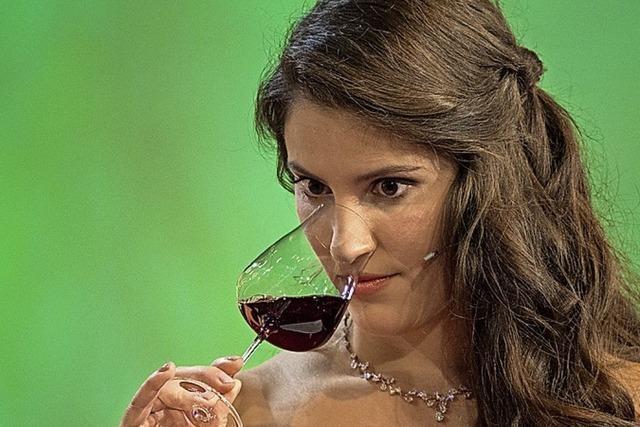 Angelina Vogt ist Weinkönigin