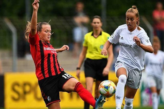 Stürmerin Stefanie Sanders will positiv bleiben – obwohl sie in dieser Saison noch nicht getroffen hat
