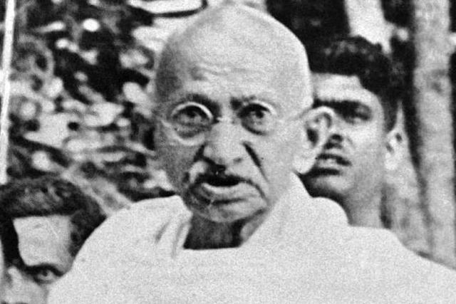 Mahatma Gandhi, der friedliche Anarchist