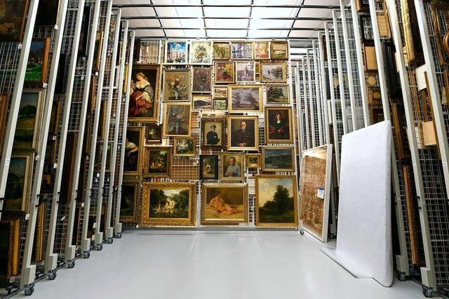In Freiburgs Zentralen Kunstdepot lagern die Schätze der Stadt
