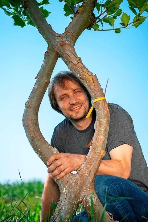 Baubotaniker Ferdinand Ludwig    Foto: Peter Kneffel