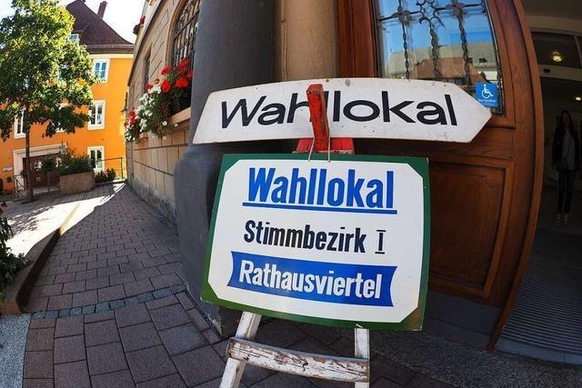 Titisee-Neustadt wählt ein neues Stadtoberhaupt
