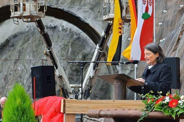 Baubeginn am Brandbergtunnel