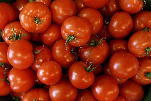 Unbekannte werfen Tomaten auf Hauswand in Reute