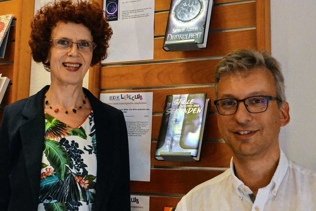 Doppelspitze Antonia Schulze Hackenesch und Peter Kirsch  | Foto: Gabriele Hennicke