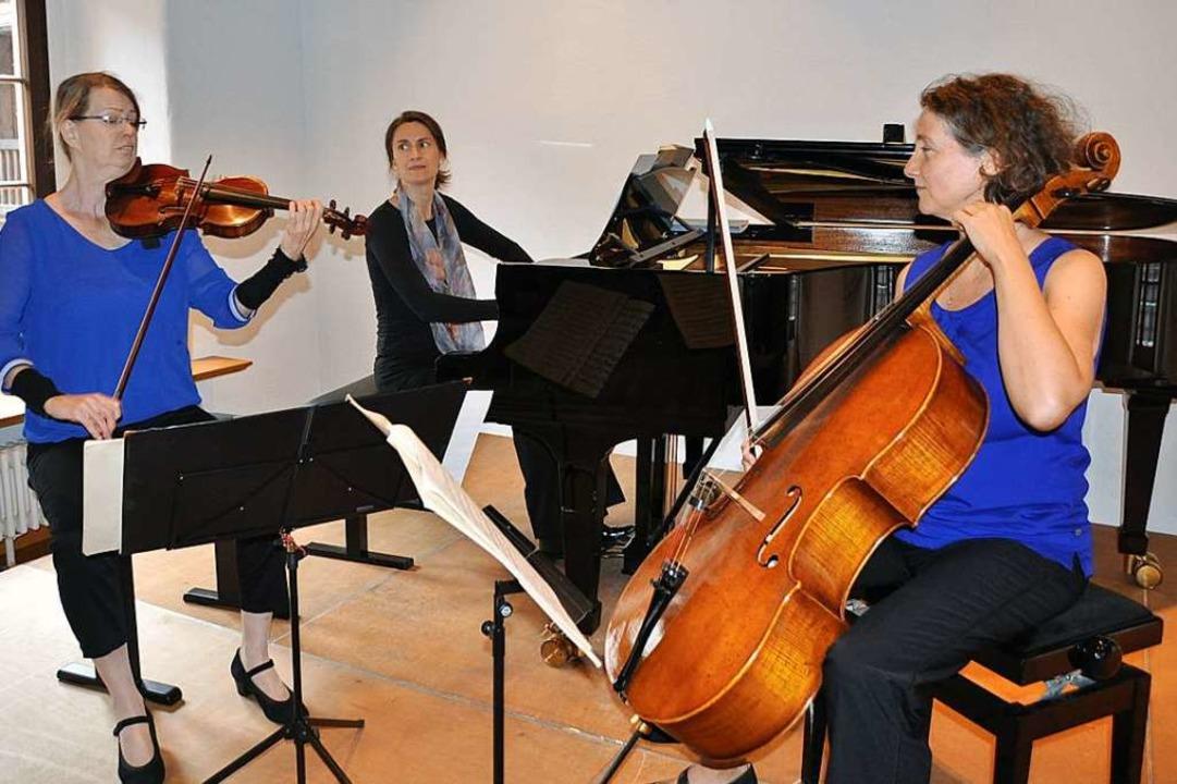 Das Trio Con Verve  | Foto: Rainer Ruther