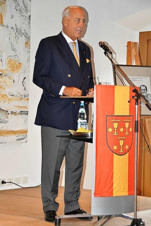 Staatssekretär a.D. Gundolf Fleischer  | Foto: Rainer Ruther