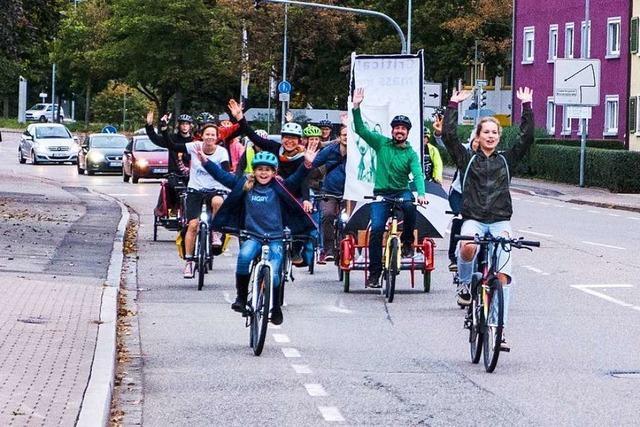 Seit fünf Jahren demonstriert eine Initiative jeden Monat für besseren Radverkehr in Lörrach