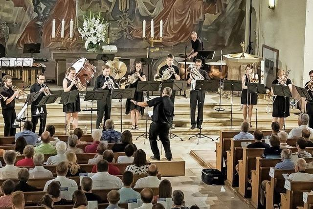 Das Ensemble der Evangelischen Landeskirche Baden in der Vörstetter Kirche