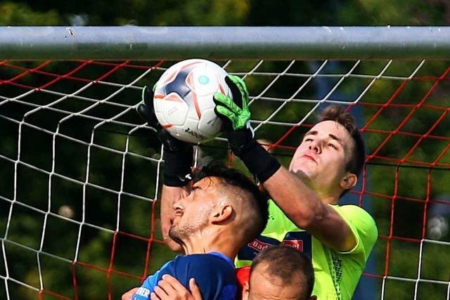 Chancen zum Siegtor waren vorhanden für den FC Neustadt