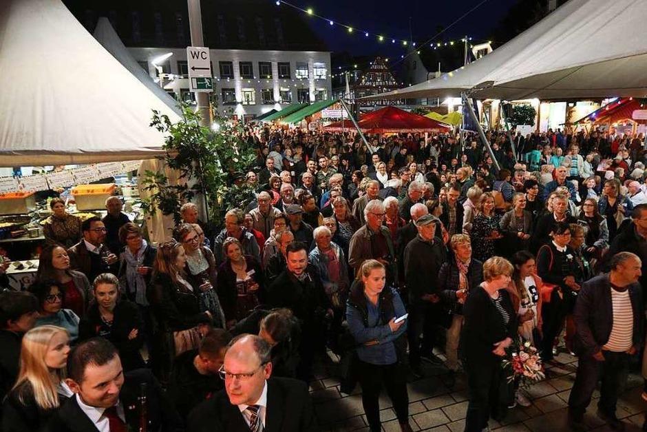 62. Ortenauer Weinfest in Offenburg (Foto: Christoph Breithaupt)