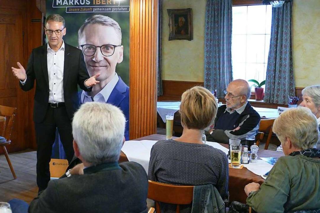 Markus Ibert in Reichenbach  | Foto: Mark Alexander